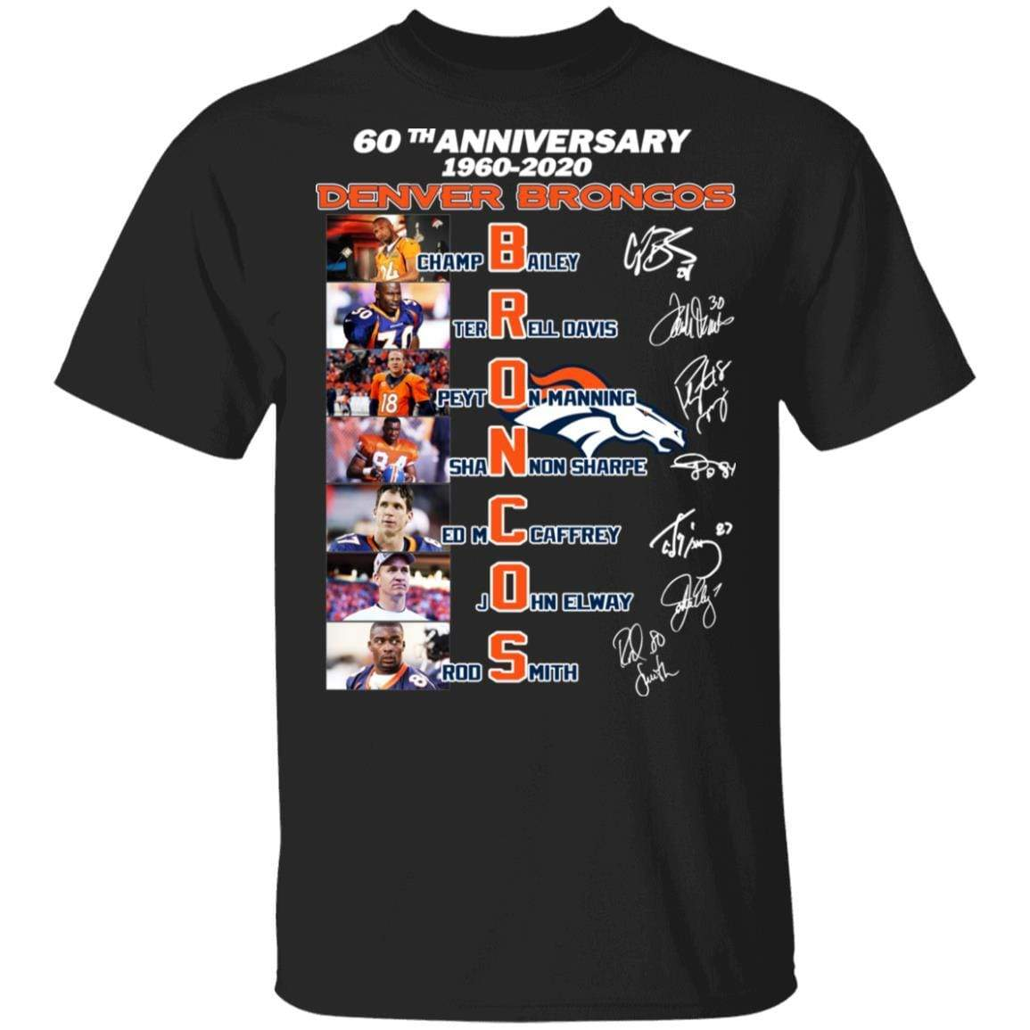 60th Anniversary Denver Broncos 1960 2020 T-Shirts, Hoodies 1049-9953-88478050-48144 - Tee Ript