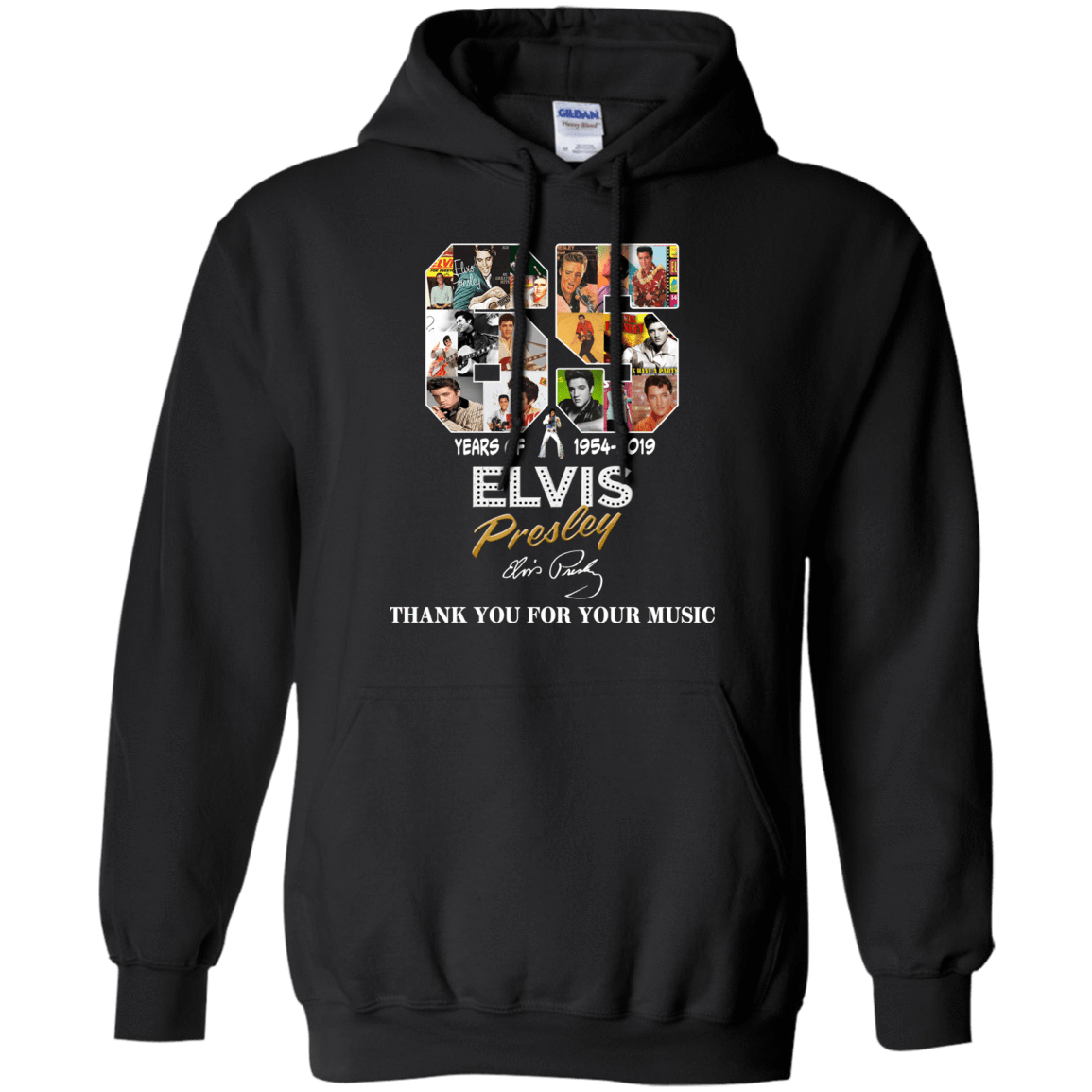 65 Years Of Elvis Presley 1954 2019 Thank You For Your Music T-Shirts, Hoodie, Tank 541-4740-78230017-23087 - Tee Ript