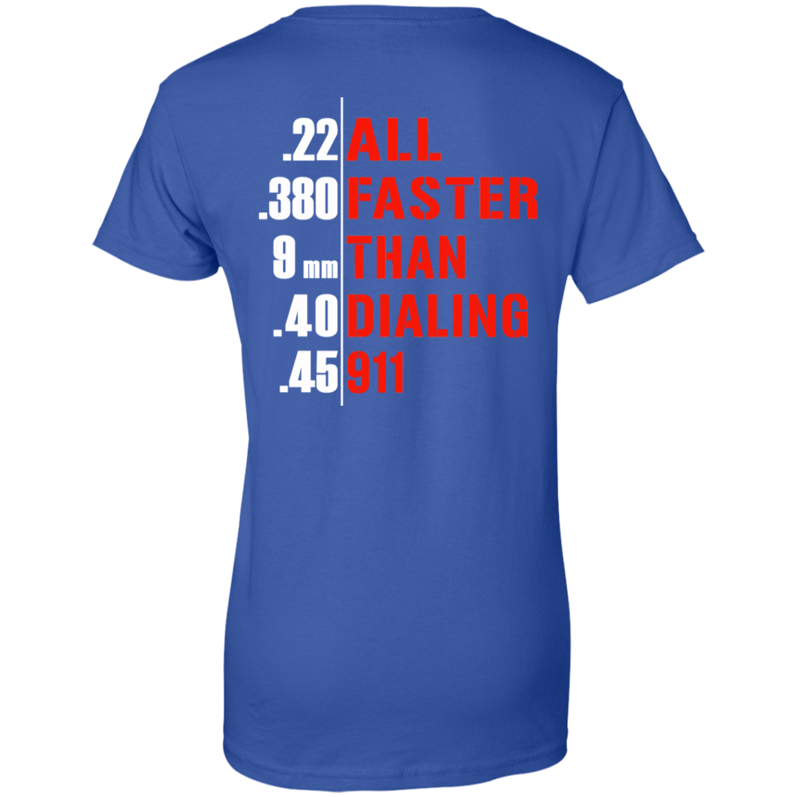 All Faster Than Dialing 911 Guns - TEE RIPT