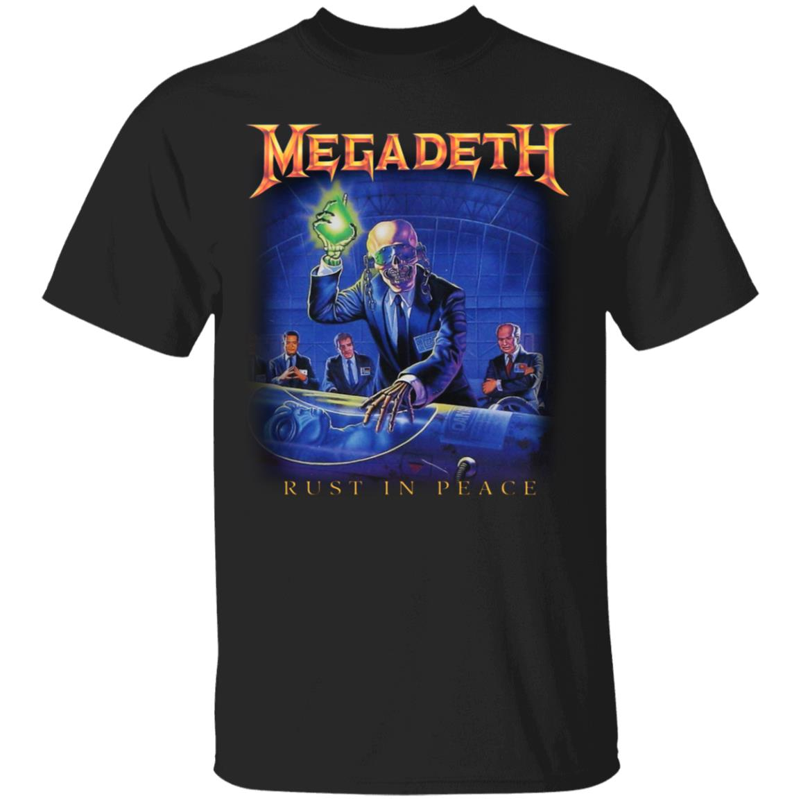 Megadeth Rust In Peace T-Shirts, Hoodies