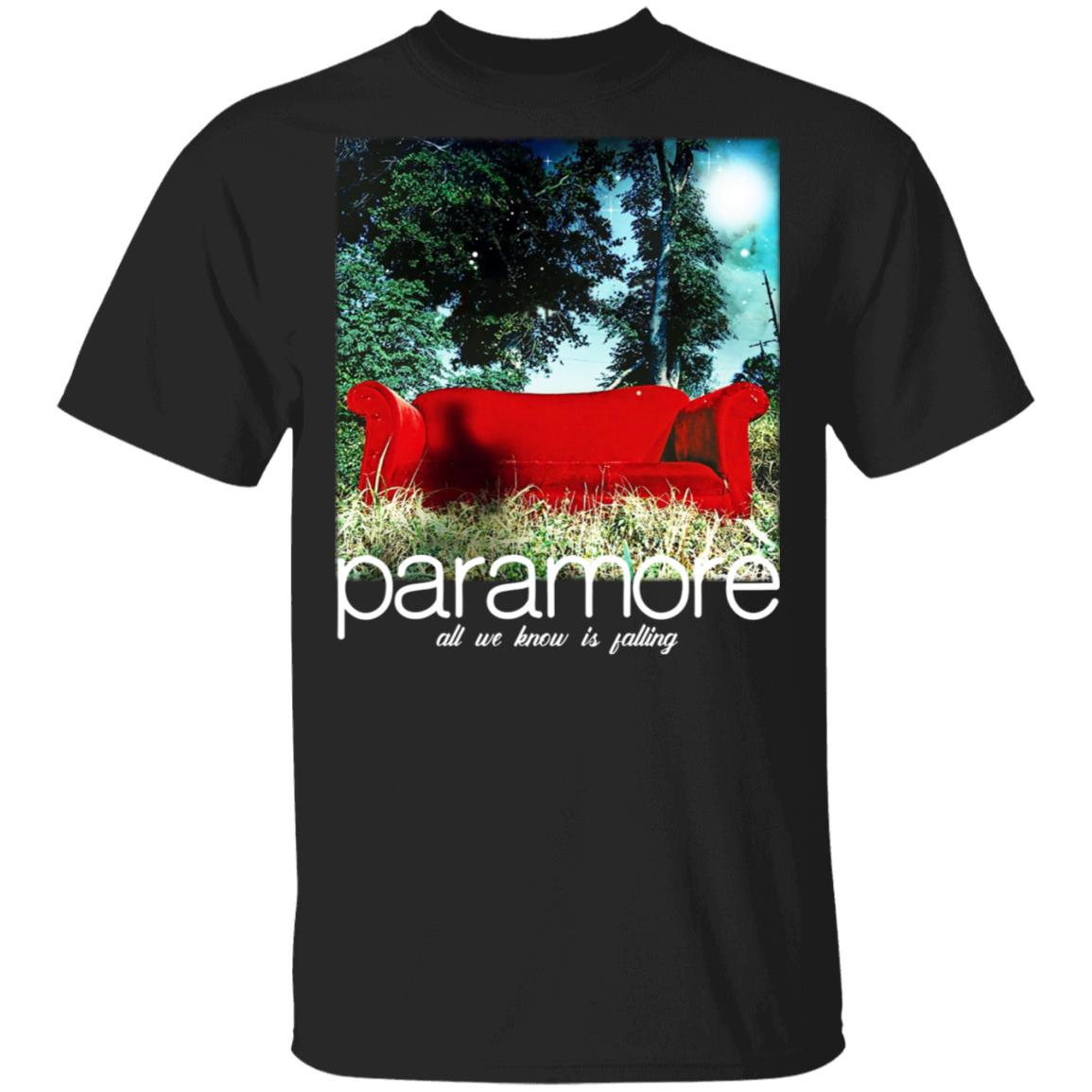 Paramore All We Know Is Falling T-Shirts, Hoodies