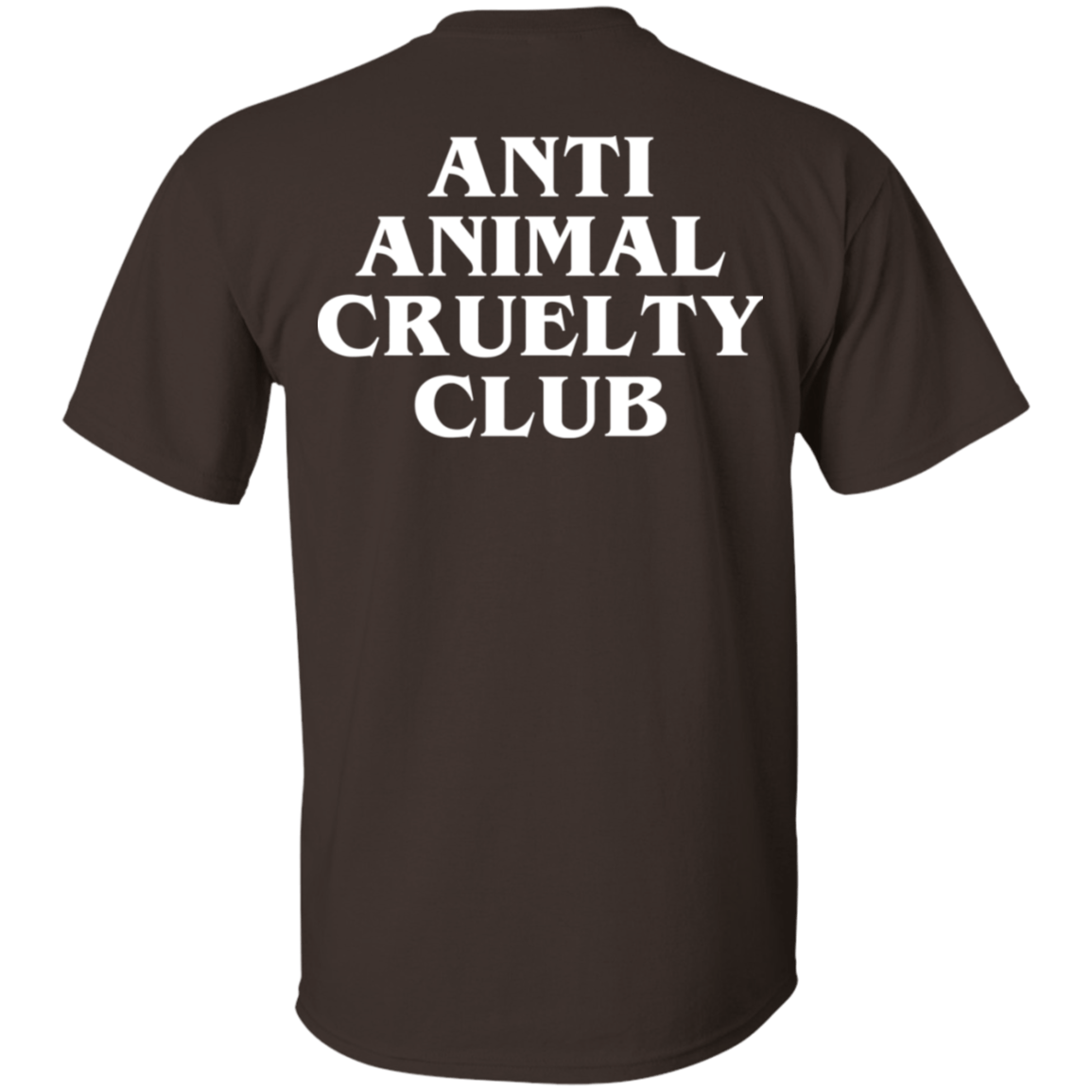 Anti Animal Cruelty Club - TEE RIPT