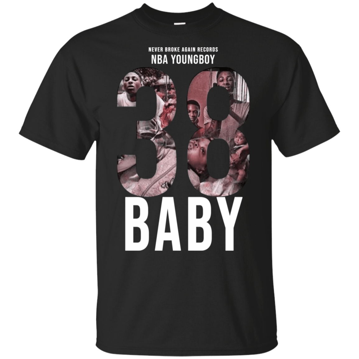 38 Baby Hoodies, T-Shirts NBA Youngboy - TEE RIPT