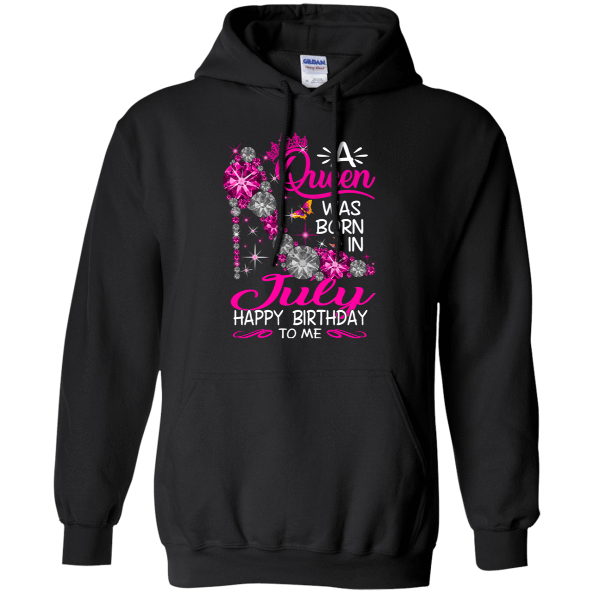 A Queen Was Born In July Happy Birthday To Me T-Shirts & Hoodies 541-4740-76451790-23087 - Tee Ript