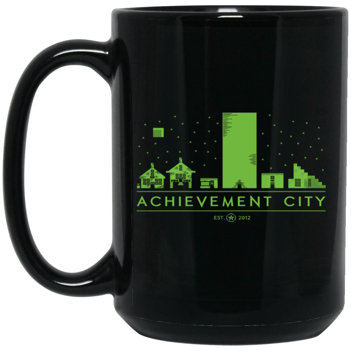 Achievement Hunter Achievement City Mug 1066-10182-89726648-49311 - Tee Ript