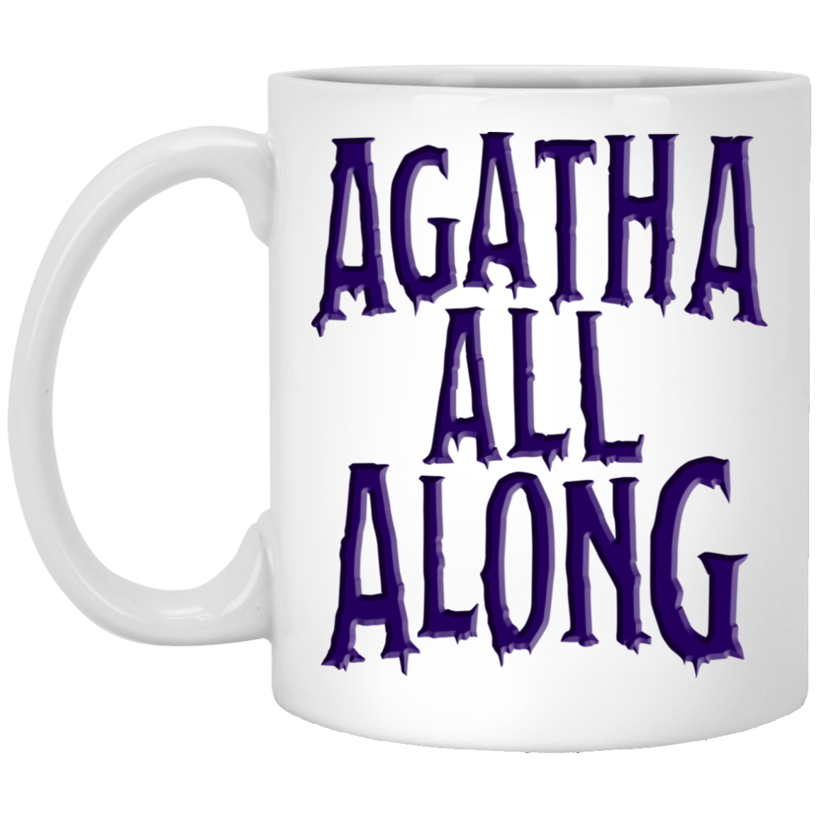 Agatha All Along Wandavision White Mug 1005-9786-92839335-47417 - Tee Ript