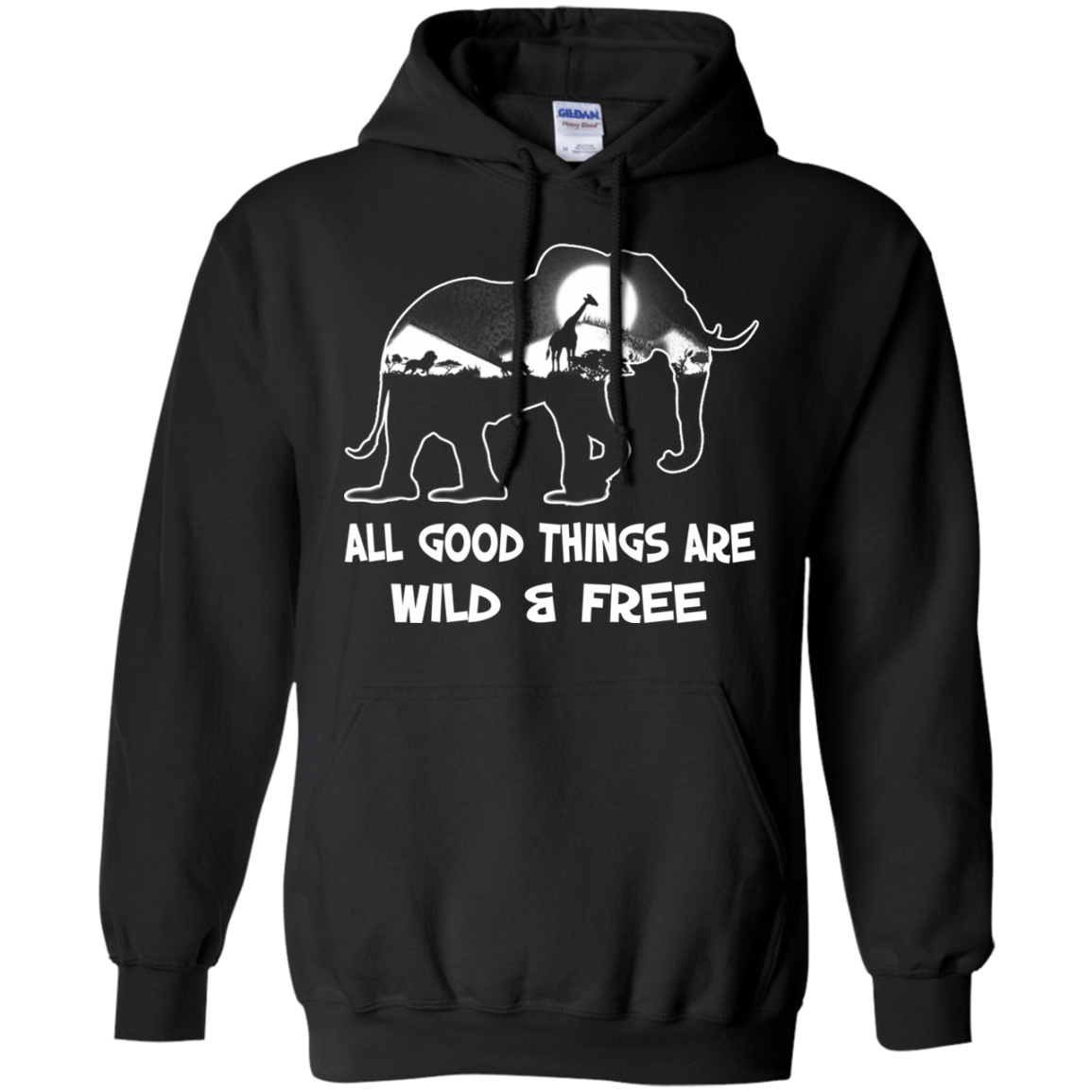 All Good Things Are Wild & Free 541-4740-72772260-23087 - Tee Ript