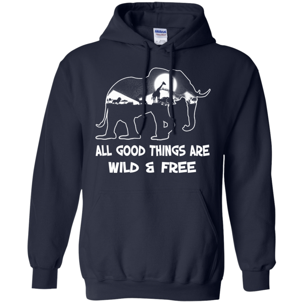 All Good Things Are Wild & Free 541-4742-72772260-23135 - Tee Ript