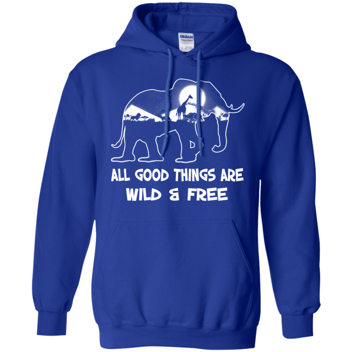 All Good Things Are Wild & Free 541-4765-72772260-23175 - Tee Ript
