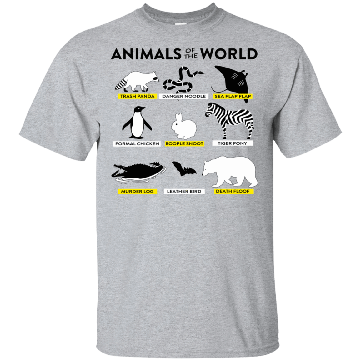 Animals Of The World T-Shirts, Hoodie, Tank 22-115-78497930-254 - Tee Ript