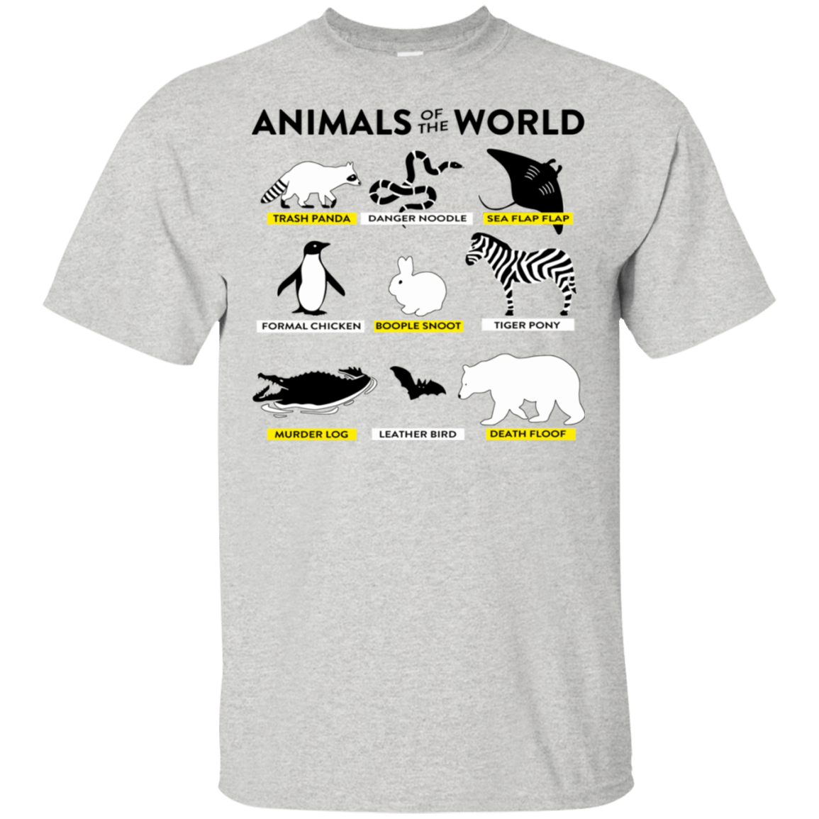Animals Of The World T-Shirts, Hoodie, Tank 22-2475-78497930-12568 - Tee Ript