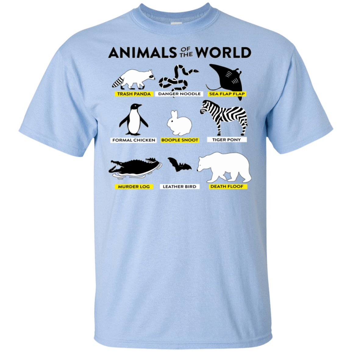 Animals Of The World T-Shirts, Hoodie, Tank 22-9800-78497930-47430 - Tee Ript