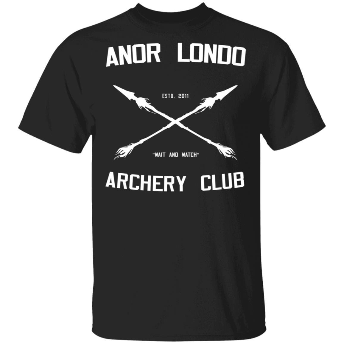 Anor Londo Archery Club 2011 T-Shirts, Hoodies 1049-9953-88767425-48144 - Tee Ript