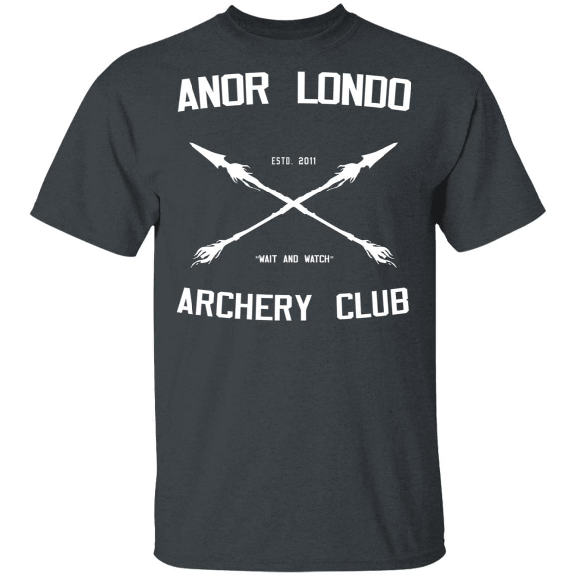 Anor Londo Archery Club 2011 T-Shirts, Hoodies 1049-9957-88767425-48192 - Tee Ript