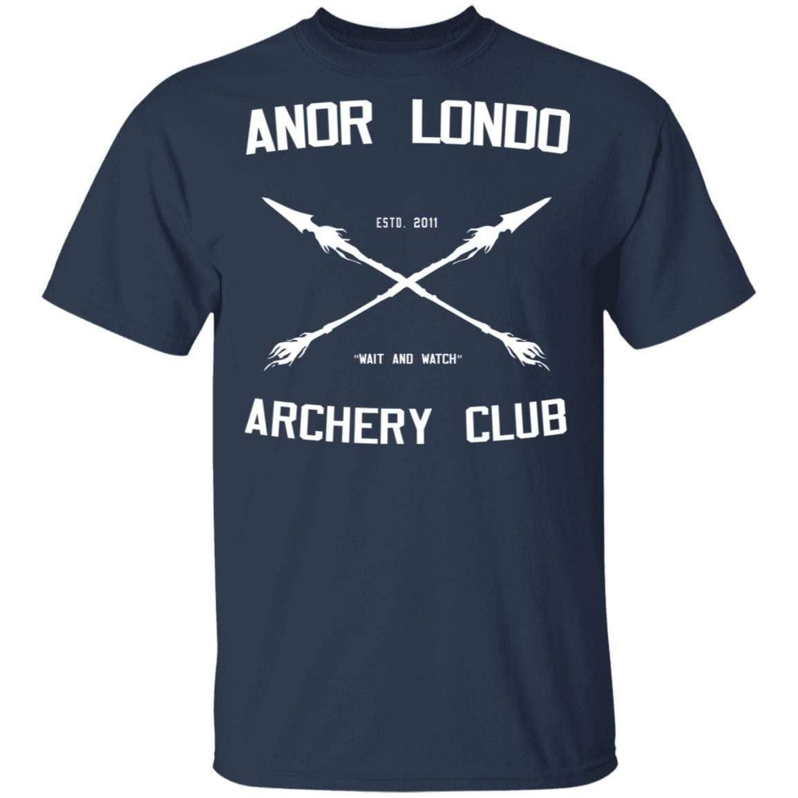 Anor Londo Archery Club 2011 T-Shirts, Hoodies 1049-9966-88767425-48248 - Tee Ript