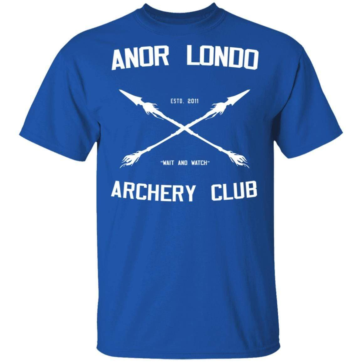 Anor Londo Archery Club 2011 T-Shirts, Hoodies 1049-9971-88767425-48286 - Tee Ript