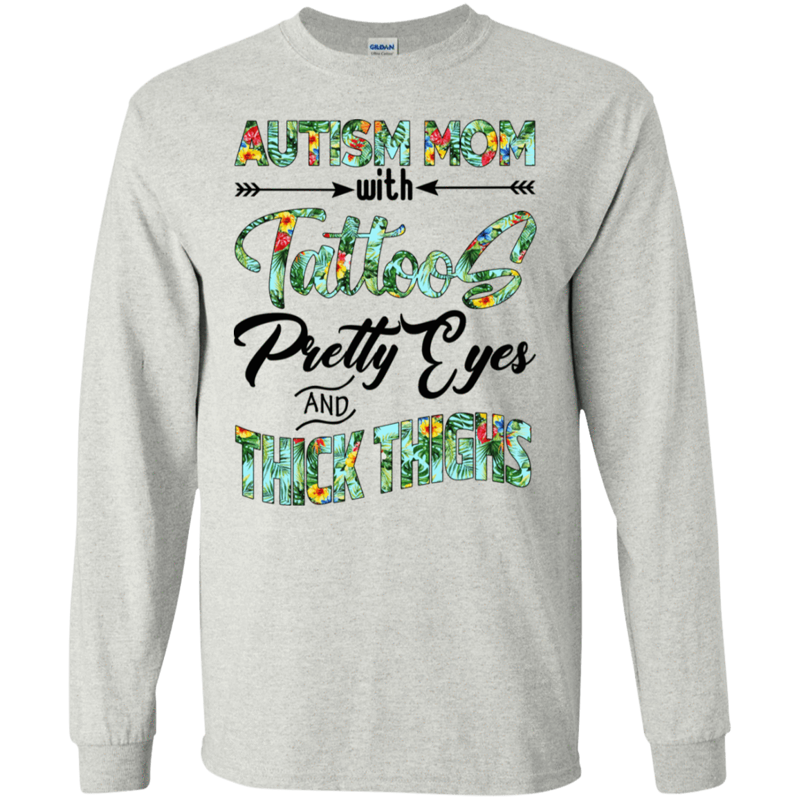 Autism Mom With Tattoos Pretty Eyes And Thick Thighs 30-2112-71996576-10754 - Tee Ript