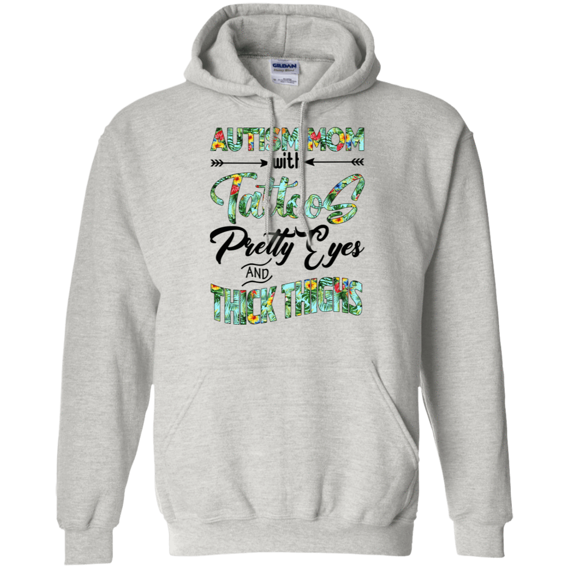 Autism Mom With Tattoos Pretty Eyes And Thick Thighs - TEE RIPT