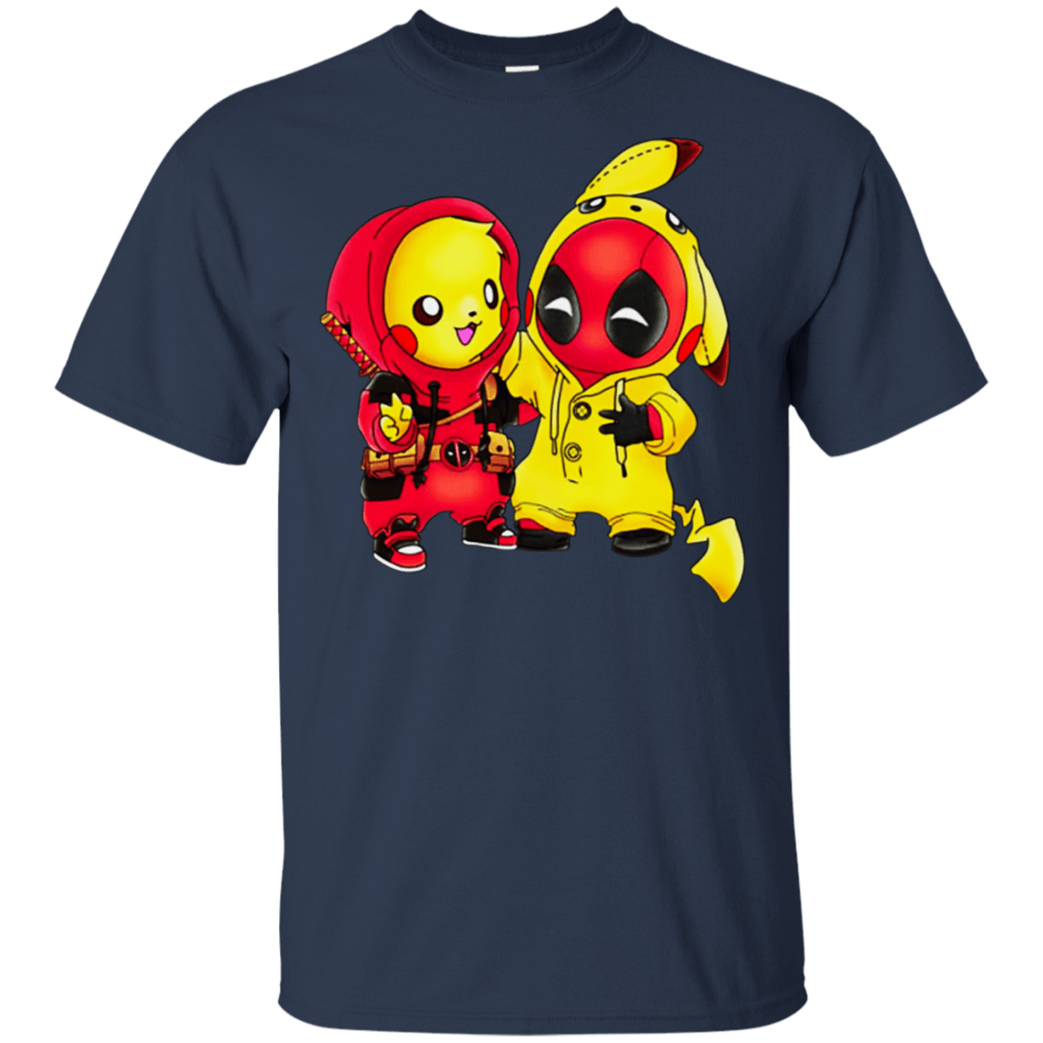Baby Pokemon Pikachu And Deadpool T-Shirts, Hoodie, Tank 22-111-78393110-250 - Tee Ript