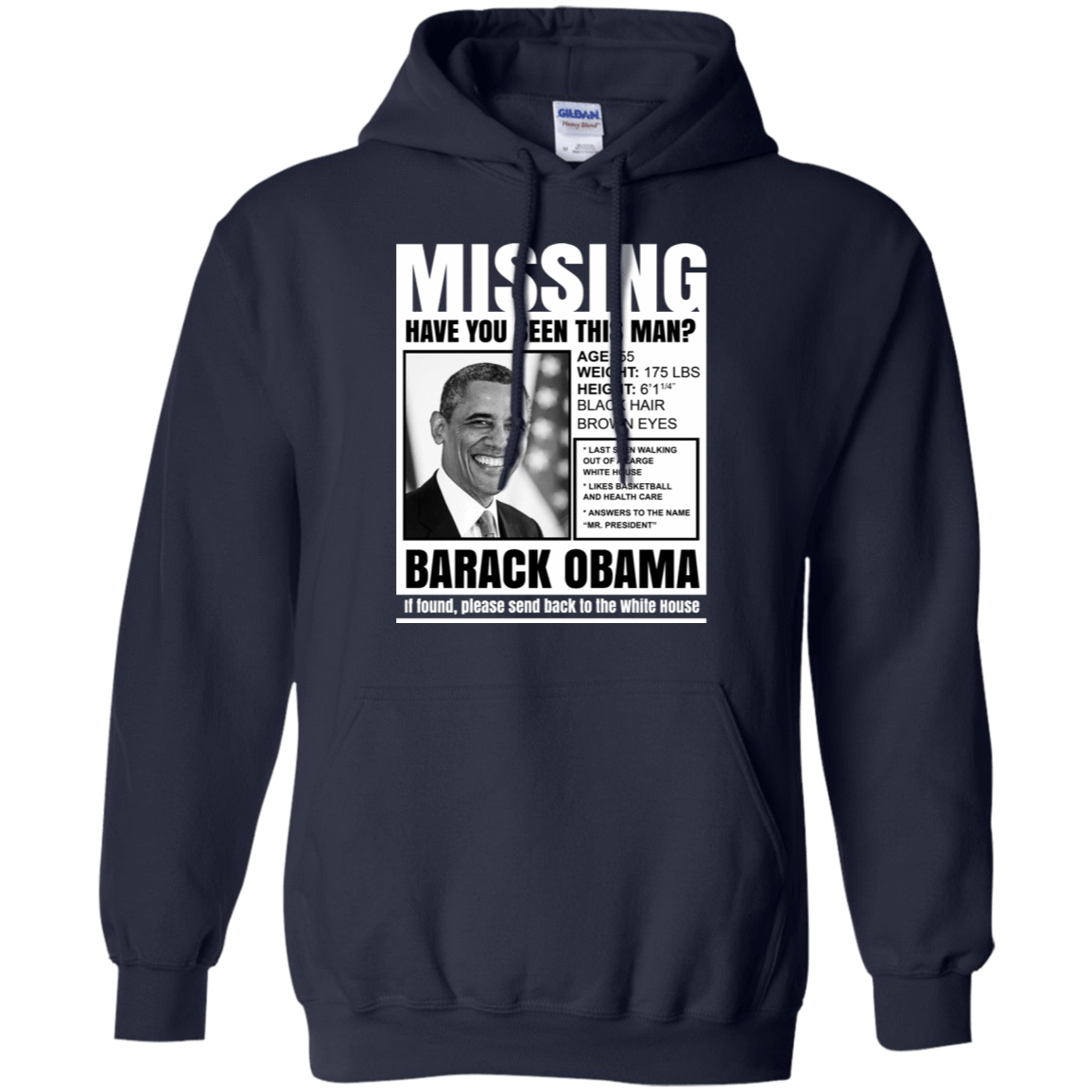Barack Obama: Missing Have You Seen This Man