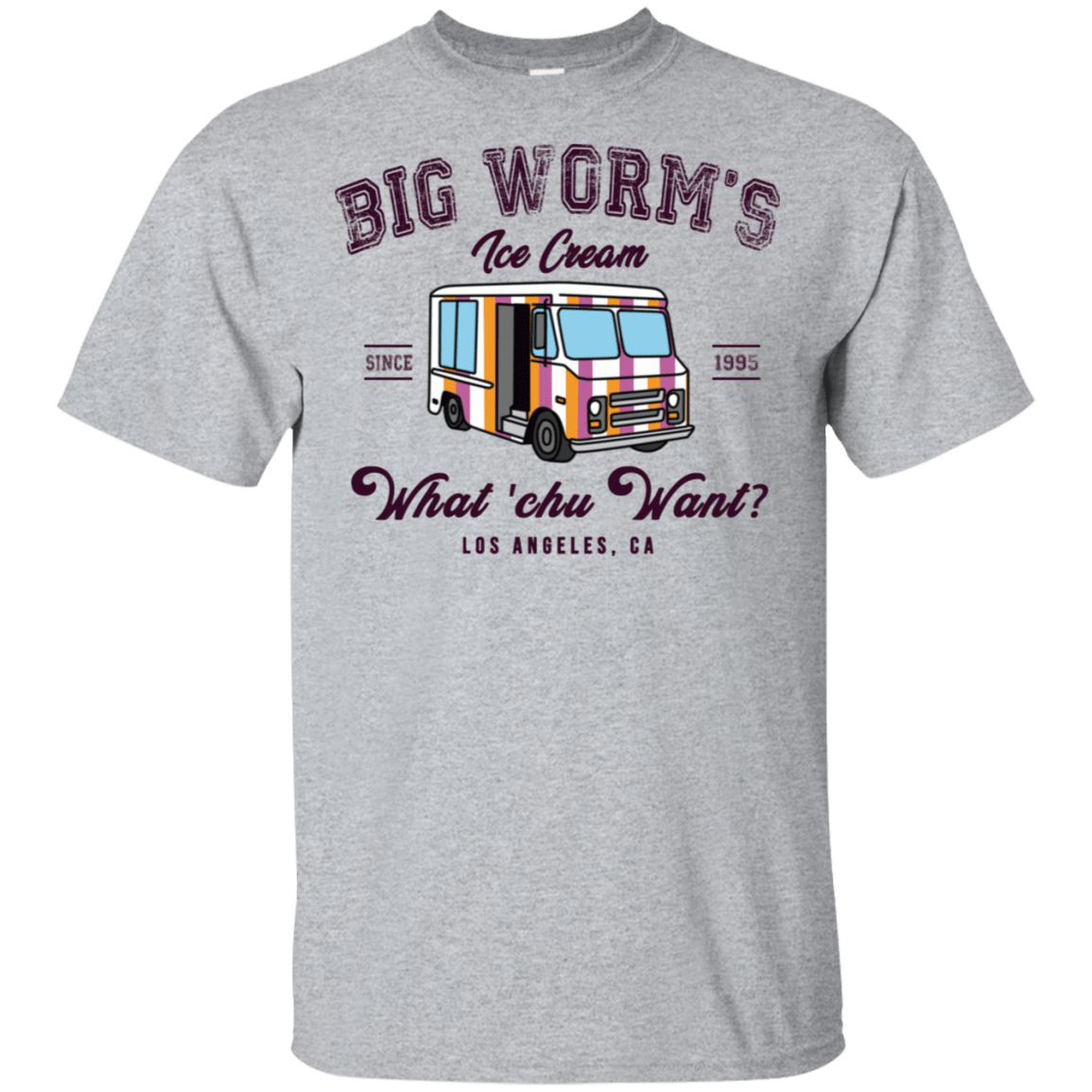 Big Worm's Ice Cream What 'chu Want 22-115-73514261-254 - Tee Ript