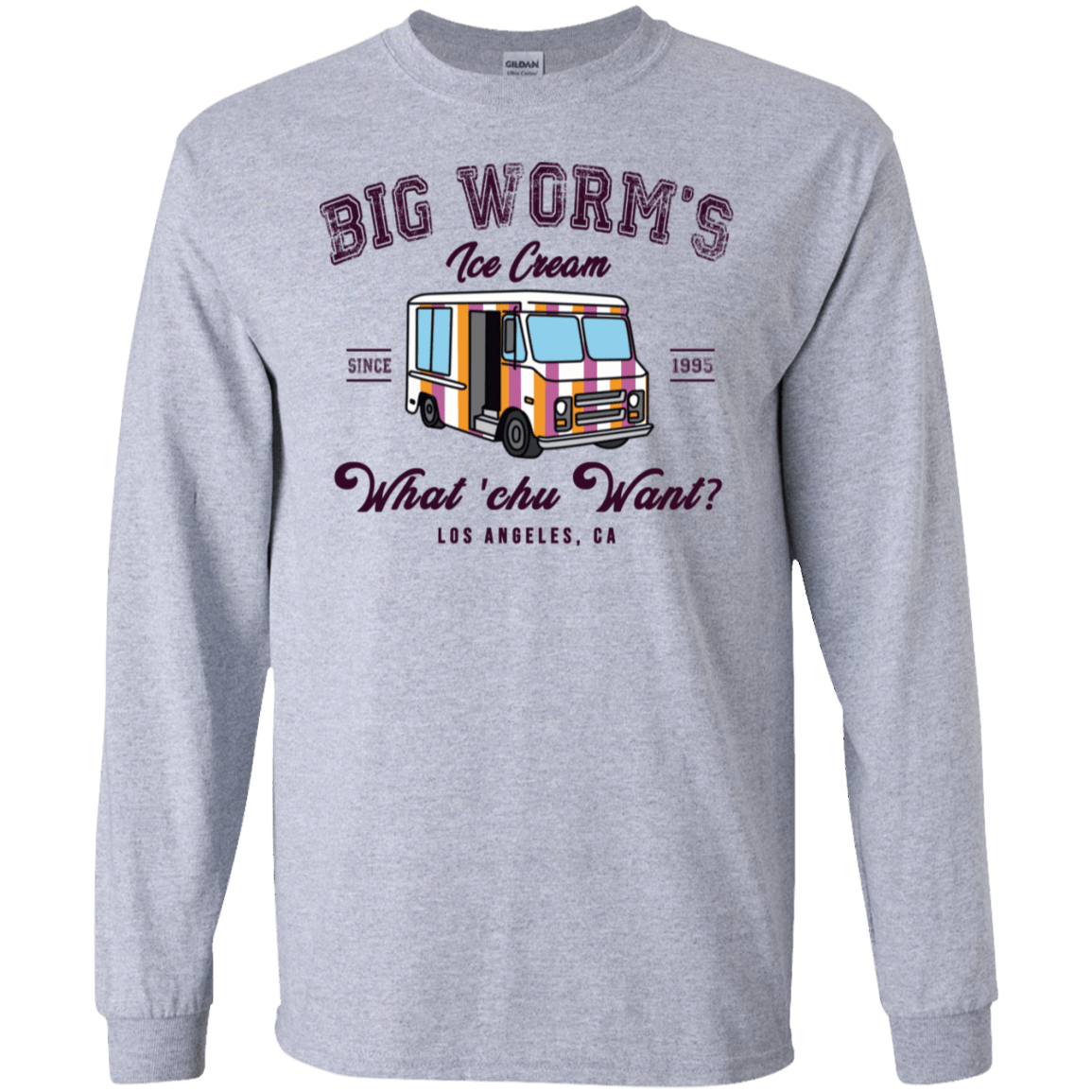 Big Worm's Ice Cream What 'chu Want 30-188-73514262-335 - Tee Ript