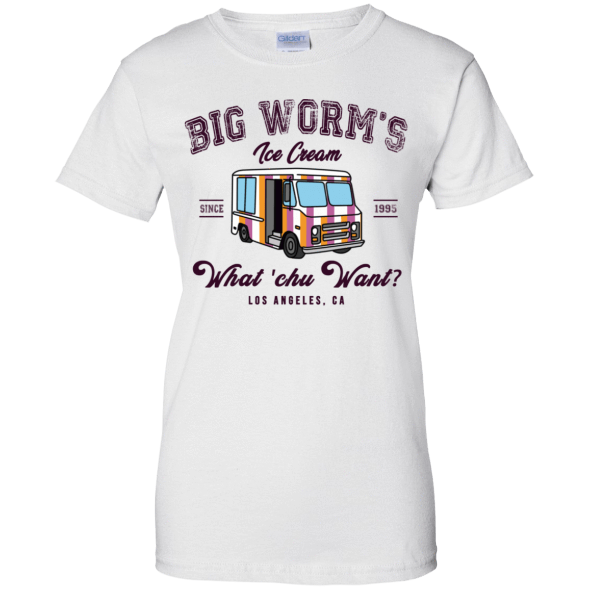 Big Worm's Ice Cream What 'chu Want 939-9247-73514264-44814 - Tee Ript