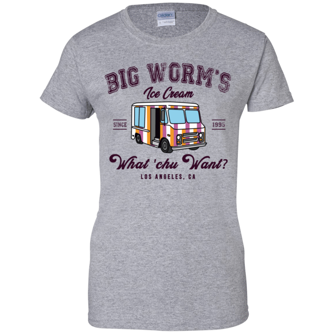 Big Worm's Ice Cream What 'chu Want 939-9265-73514264-44821 - Tee Ript