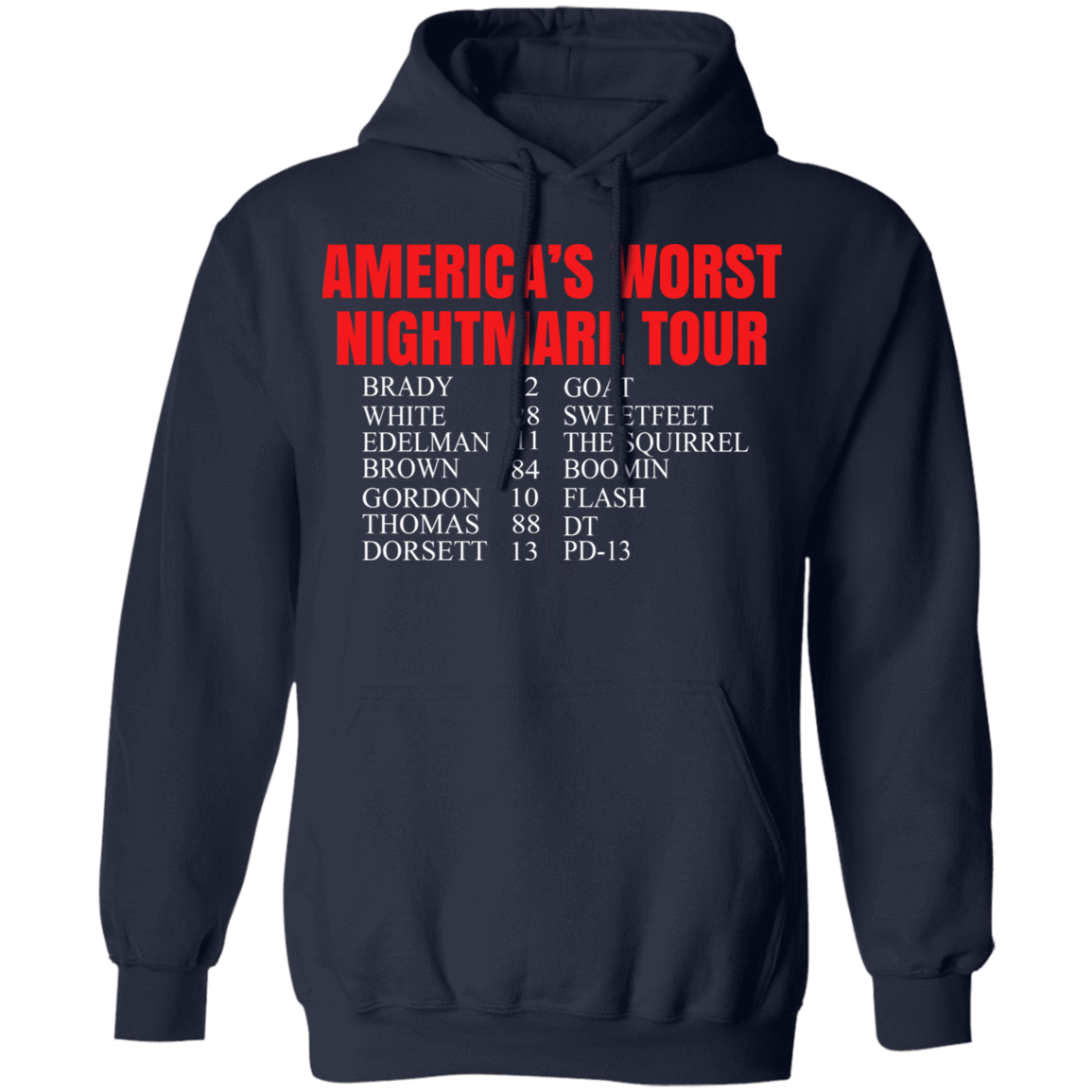 Bill's Plan America's Worst Nightmare Tour Brady Goat White Sweetfeet Edelman The Squirrel Shirt B T-Shirts, Hoodies, Tank 541-4742-81772828-23135 - Tee Ript