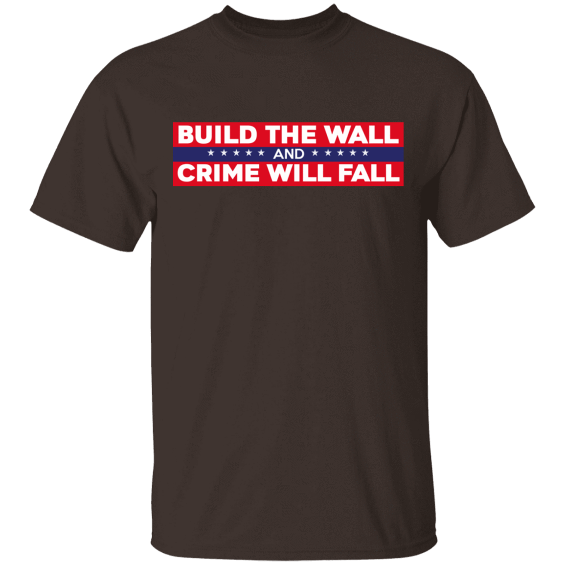Build The Wall And Crime Will Fall Bumper T-Shirts, Hoodies, Tank 22-2283-80184187-12087 - Tee Ript