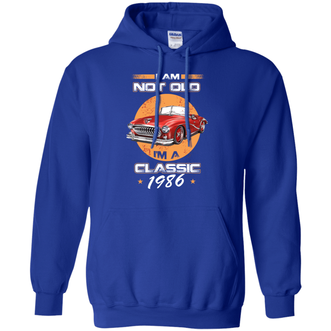 Car I'm Not Old I'm A Classic 1986 541-4765-72032396-23175 - Tee Ript