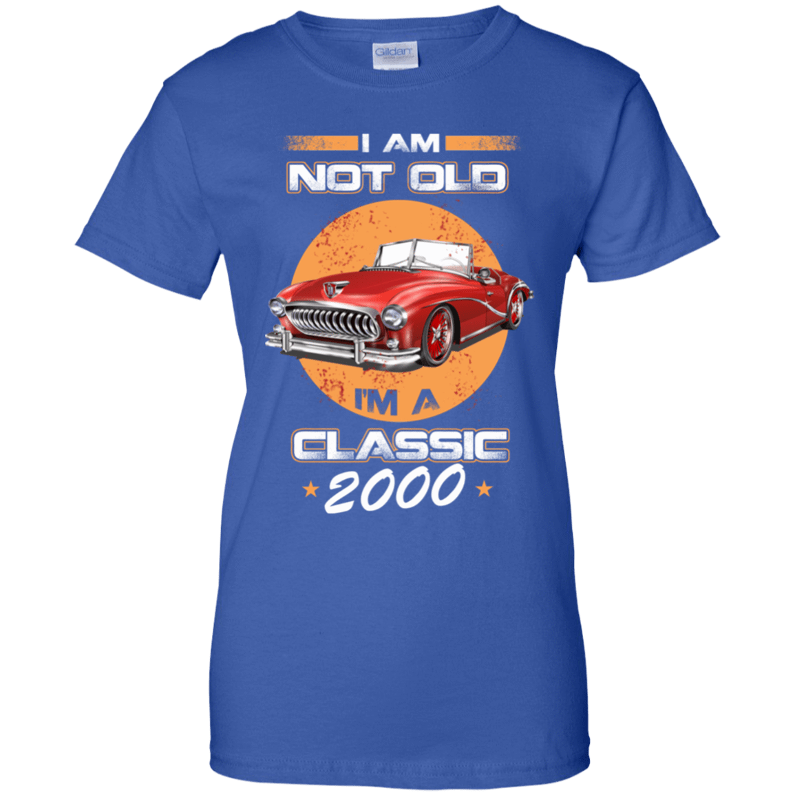 Car I'm Not Old I'm A Classic 2000 939-9264-72030845-44807 - Tee Ript