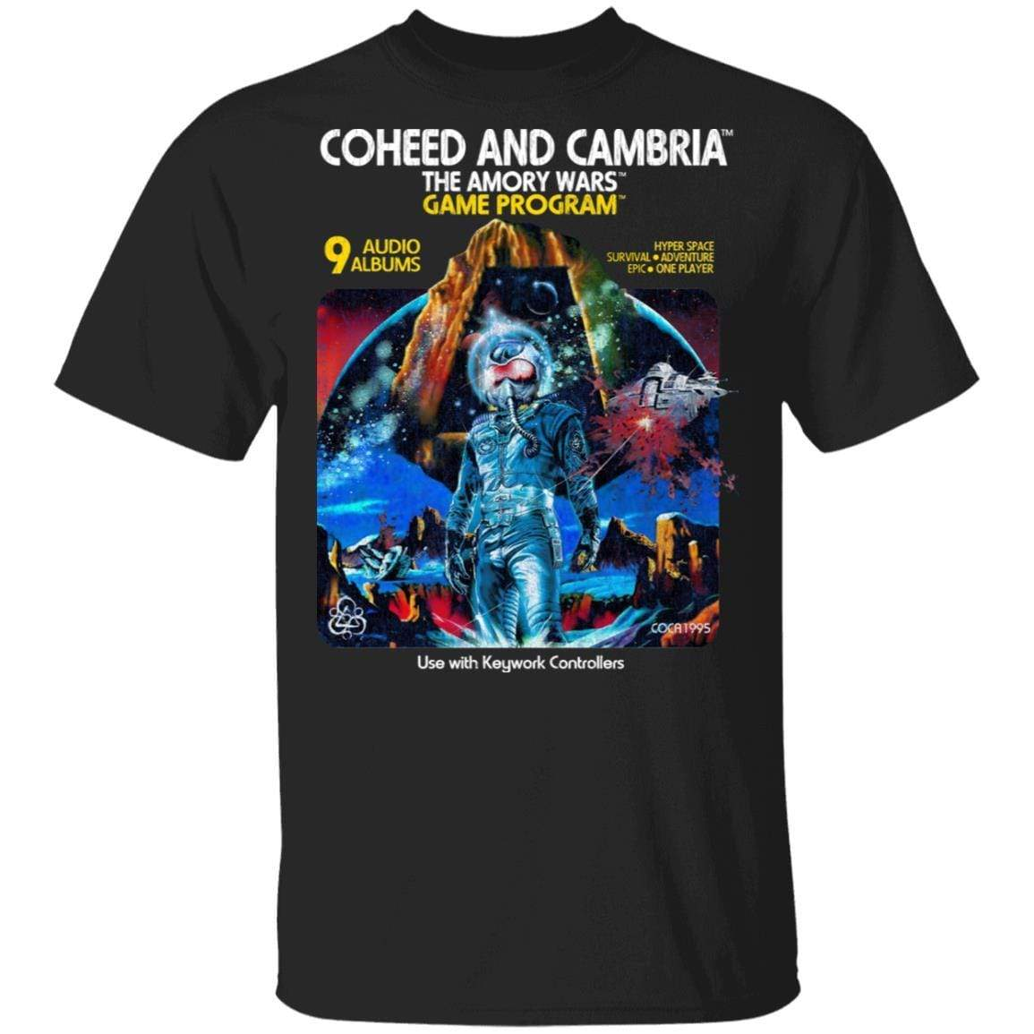 Coheed And Cambria The Amory Wars Game Program T-Shirts, Hoodies 1049-9953-92947929-48144 - Tee Ript