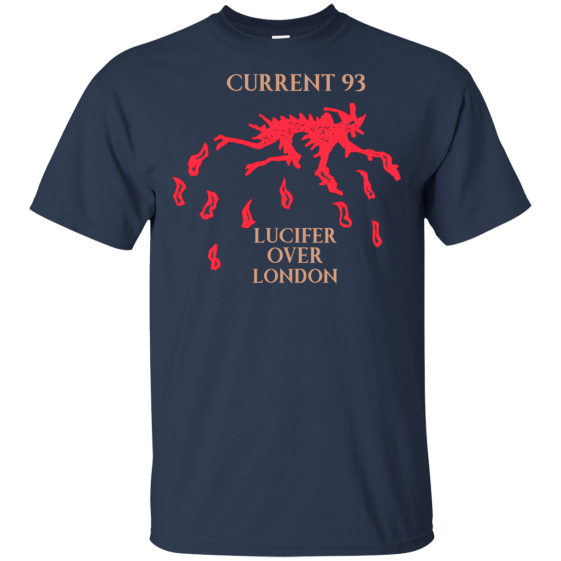 Current 93 Lucifer Over London 22-111-73890759-250 - Tee Ript