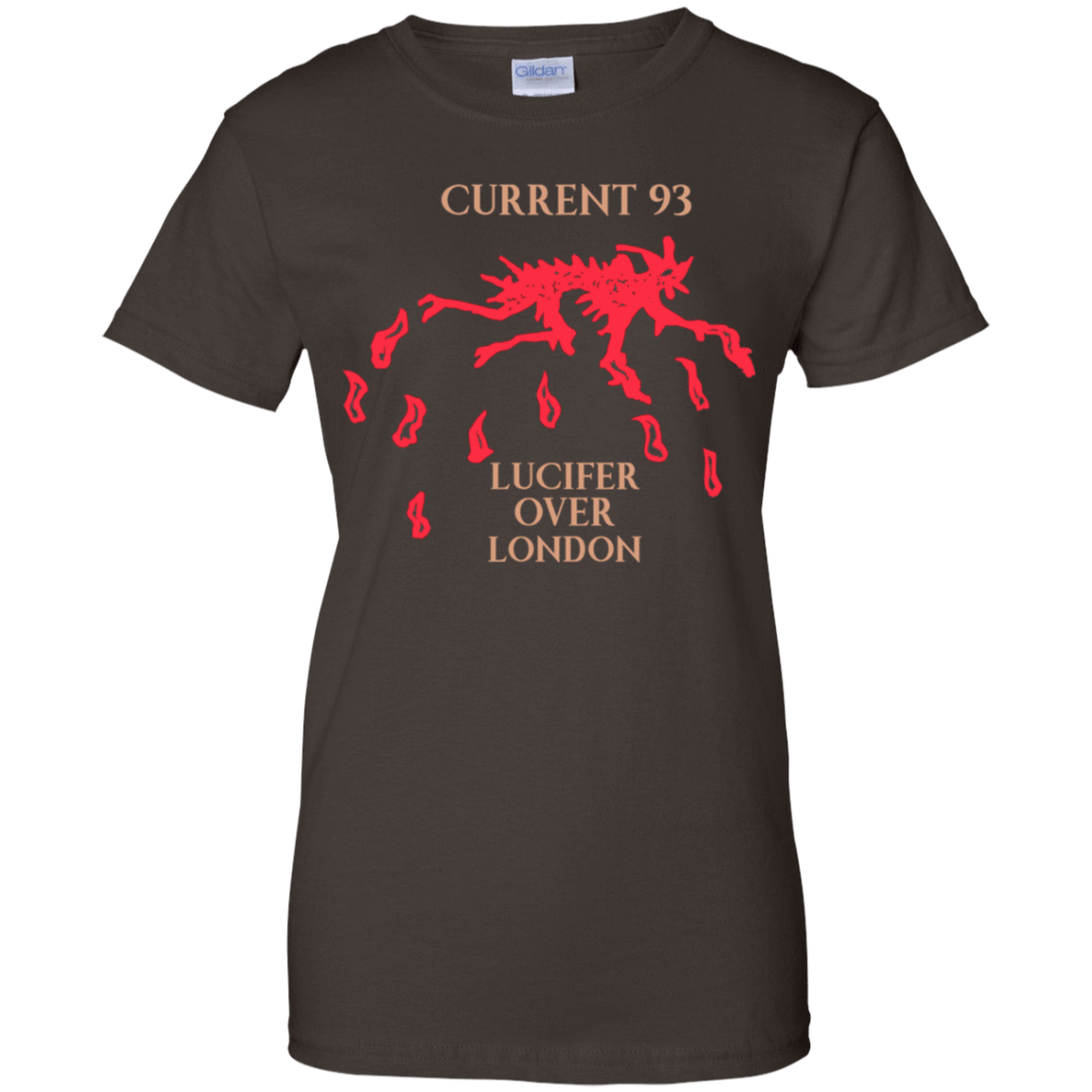 Current 93 Lucifer Over London 939-9251-73890762-44702 - Tee Ript