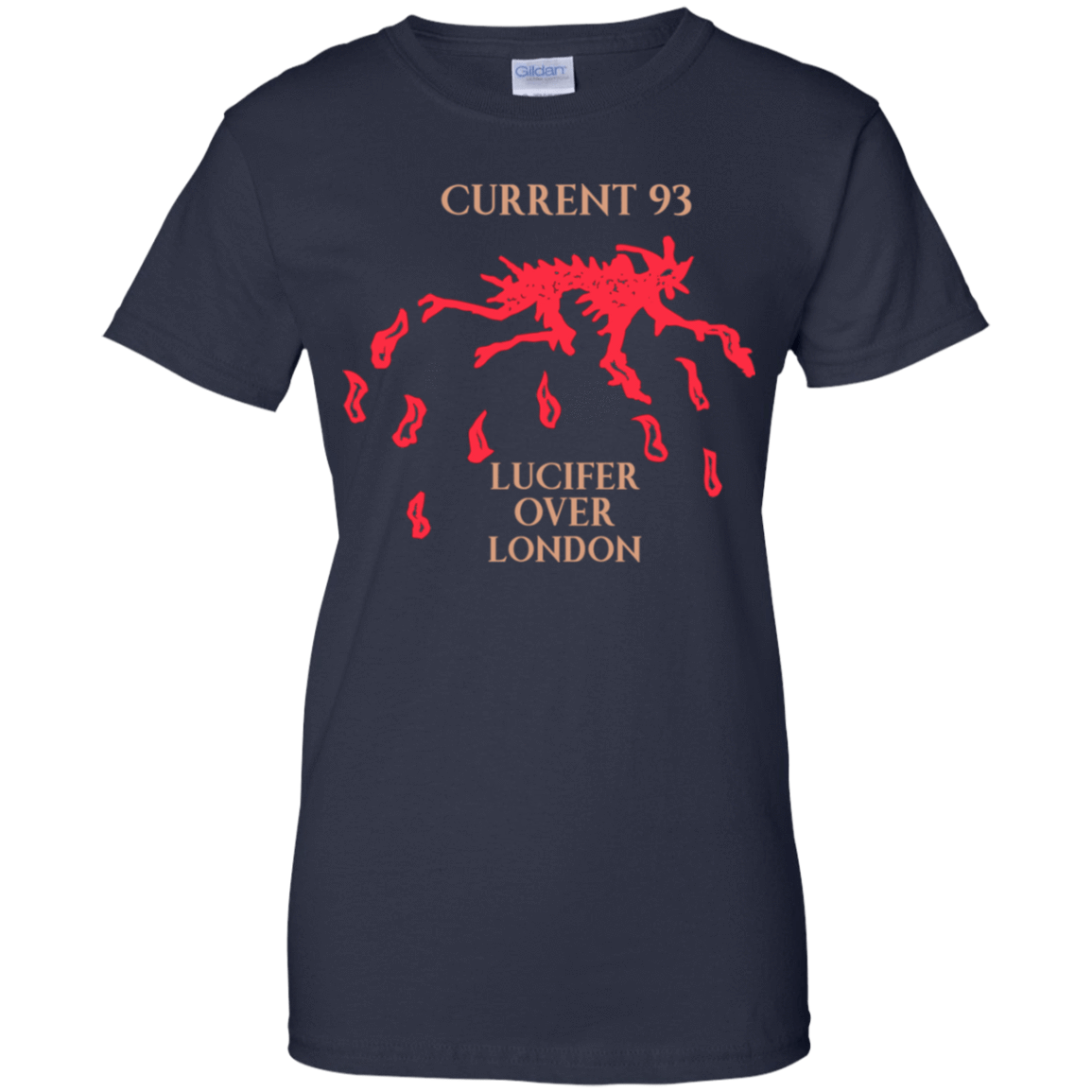 Current 93 Lucifer Over London 939-9259-73890762-44765 - Tee Ript