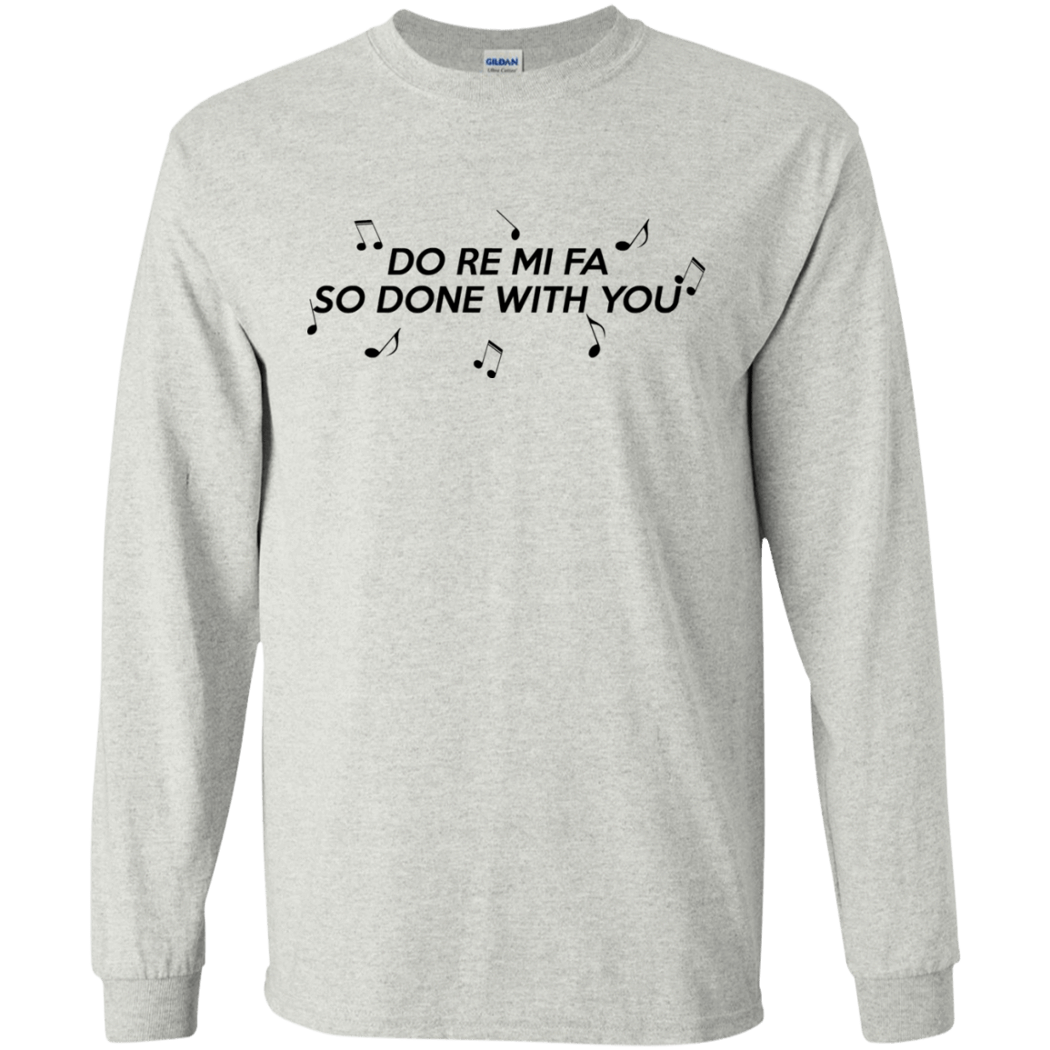 Do Re Mi Fa So Done With You 30-2112-71995120-10754 - Tee Ript