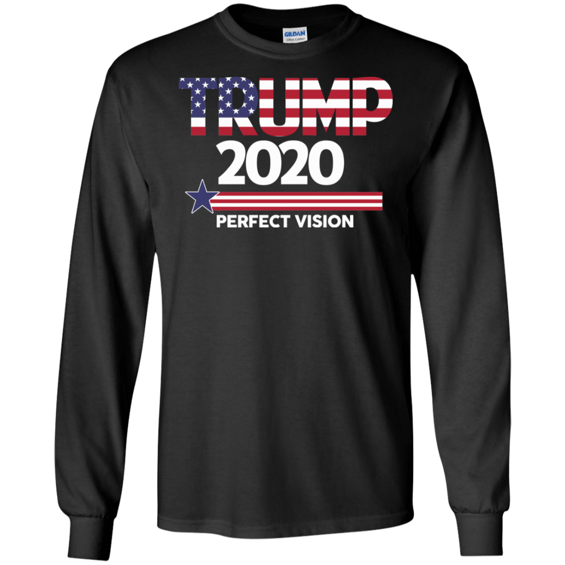 Donald Trump 2020 Perfect Vision T-Shirts, Hoodies 30-186-77529010-333 - Tee Ript