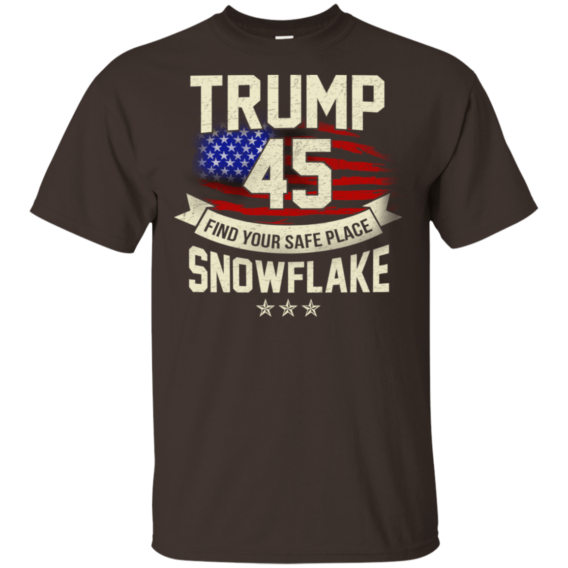 Donald Trump 45 Find Your Safe Place Snowflake T-Shirts, Hoodie, Tank 22-2283-78128267-12087 - Tee Ript