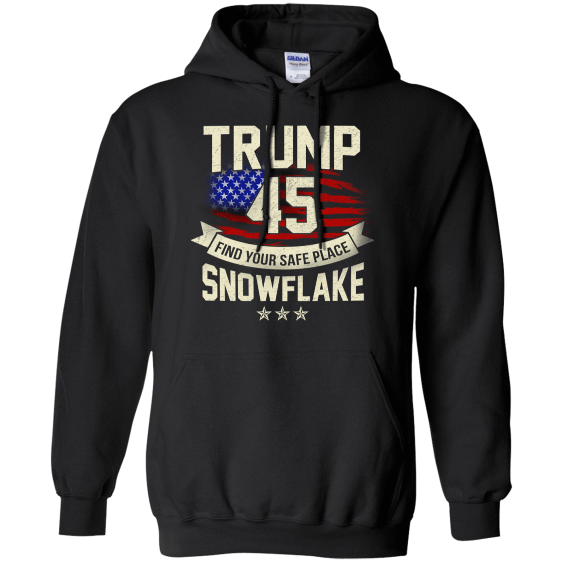 Donald Trump 45 Find Your Safe Place Snowflake T-Shirts, Hoodie, Tank 541-4740-78128268-23087 - Tee Ript