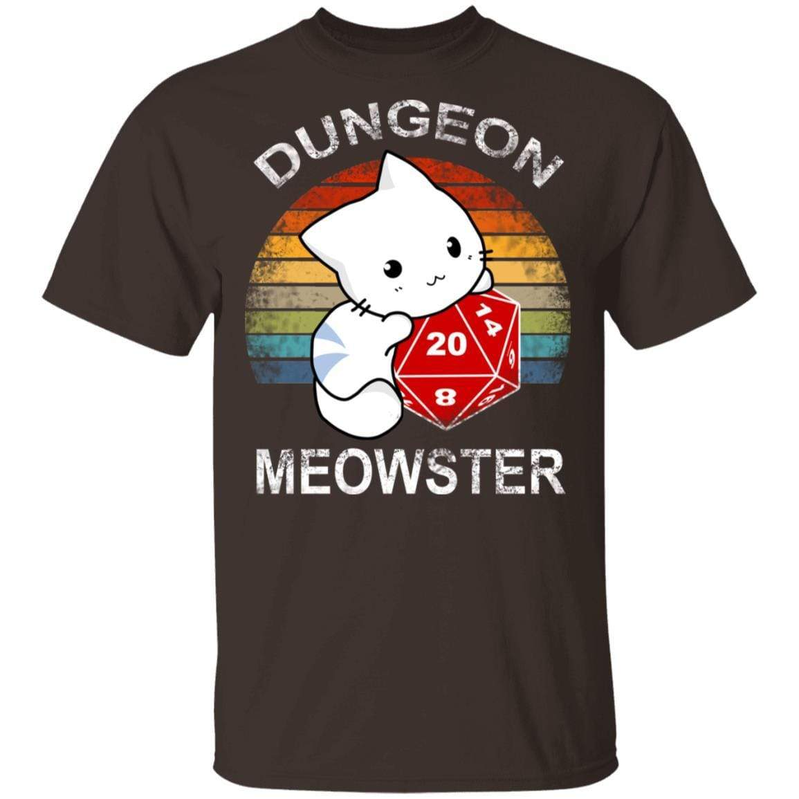 Dungeon Meowster Retro Vintage Funny Cat T-Shirts, Hoodies 1049-9956-90279036-48152 - Tee Ript