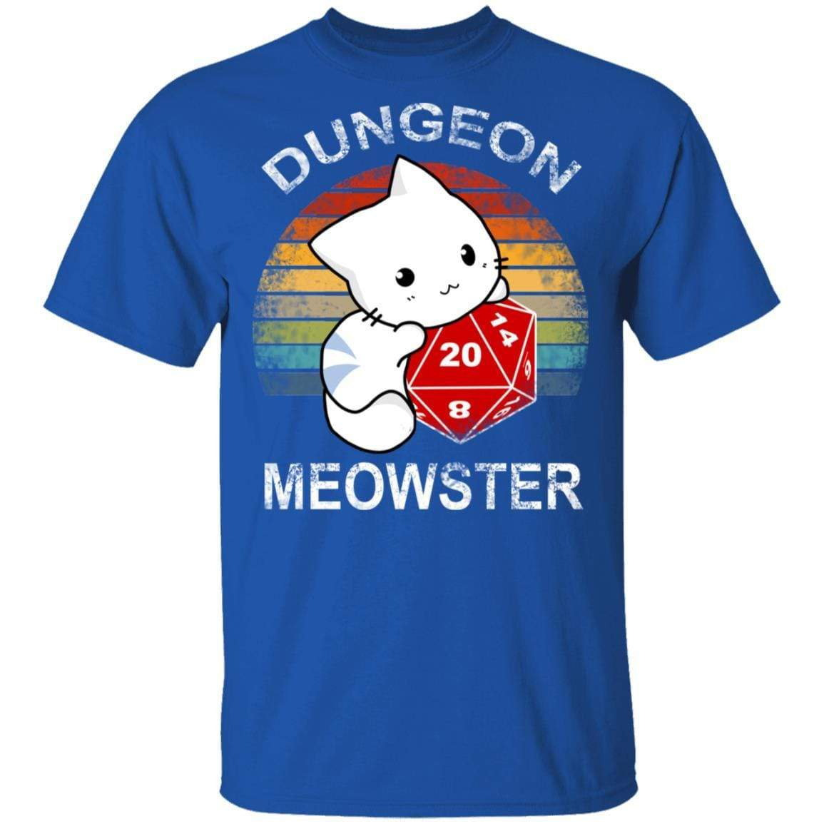Dungeon Meowster Retro Vintage Funny Cat T-Shirts, Hoodies 1049-9971-90279036-48286 - Tee Ript
