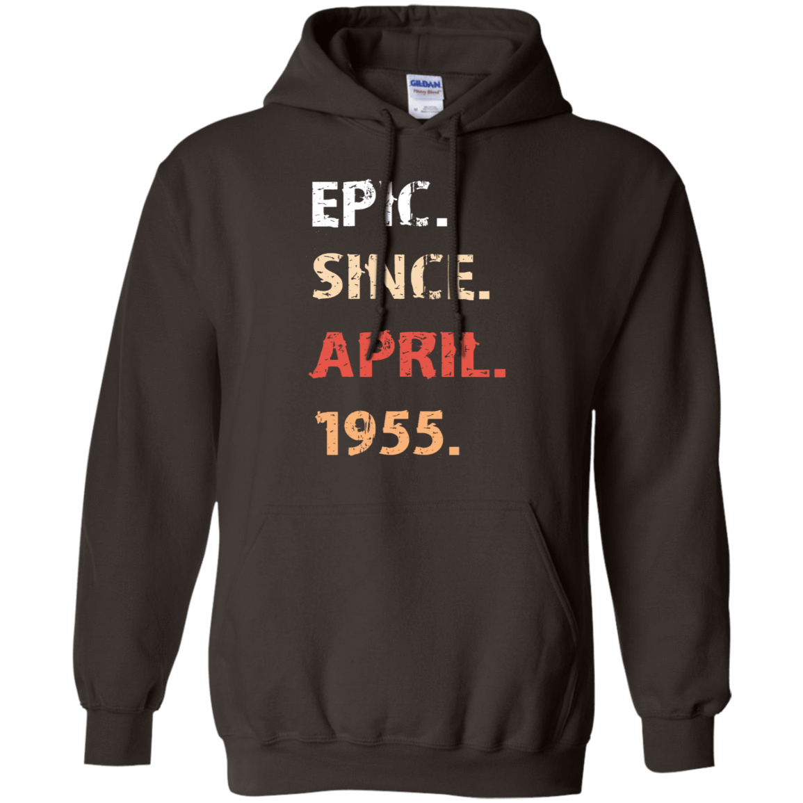 Epic Since April 1955 Birthday Gift 541-4752-71482406-23095 - Tee Ript