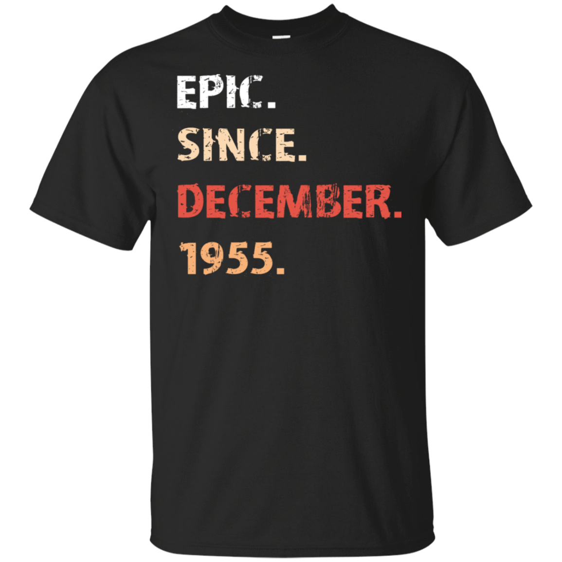 Epic Since December 1955 Birthday Gift 22-113-71482165-252 - Tee Ript