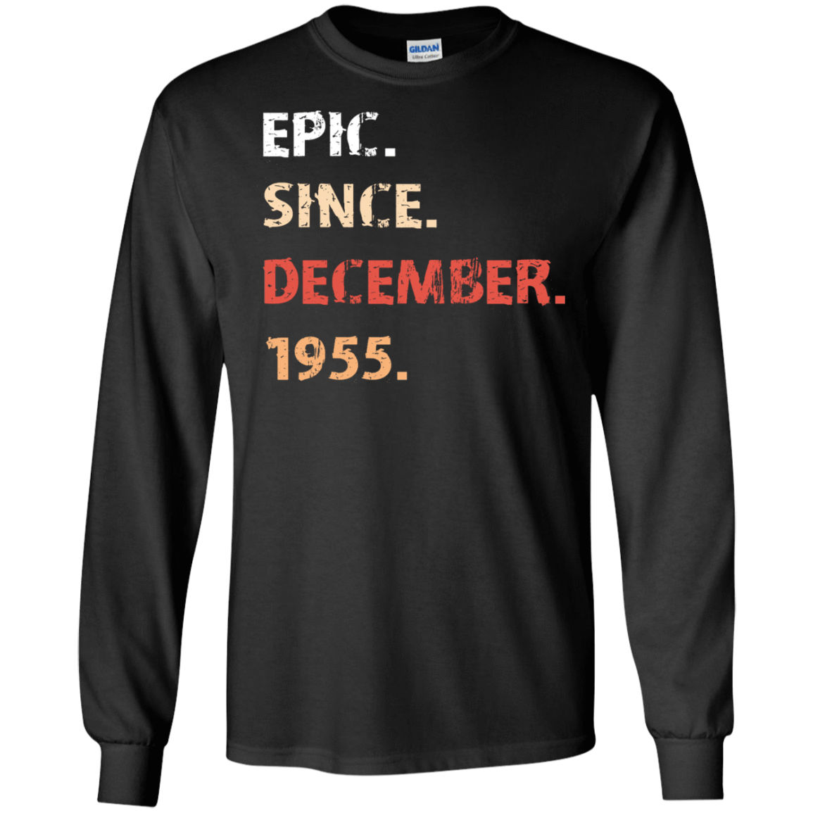 Epic Since December 1955 Birthday Gift 30-186-71482166-333 - Tee Ript