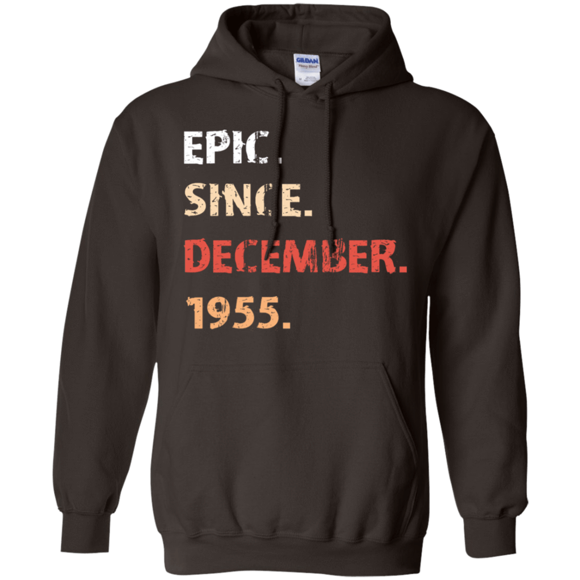 Epic Since December 1955 Birthday Gift 541-4752-71482167-23095 - Tee Ript