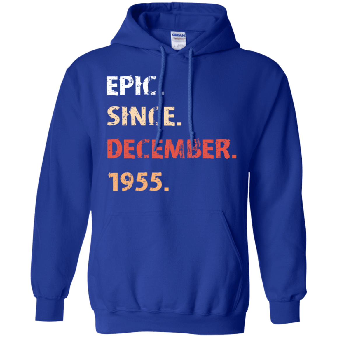 Epic Since December 1955 Birthday Gift 541-4765-71482167-23175 - Tee Ript