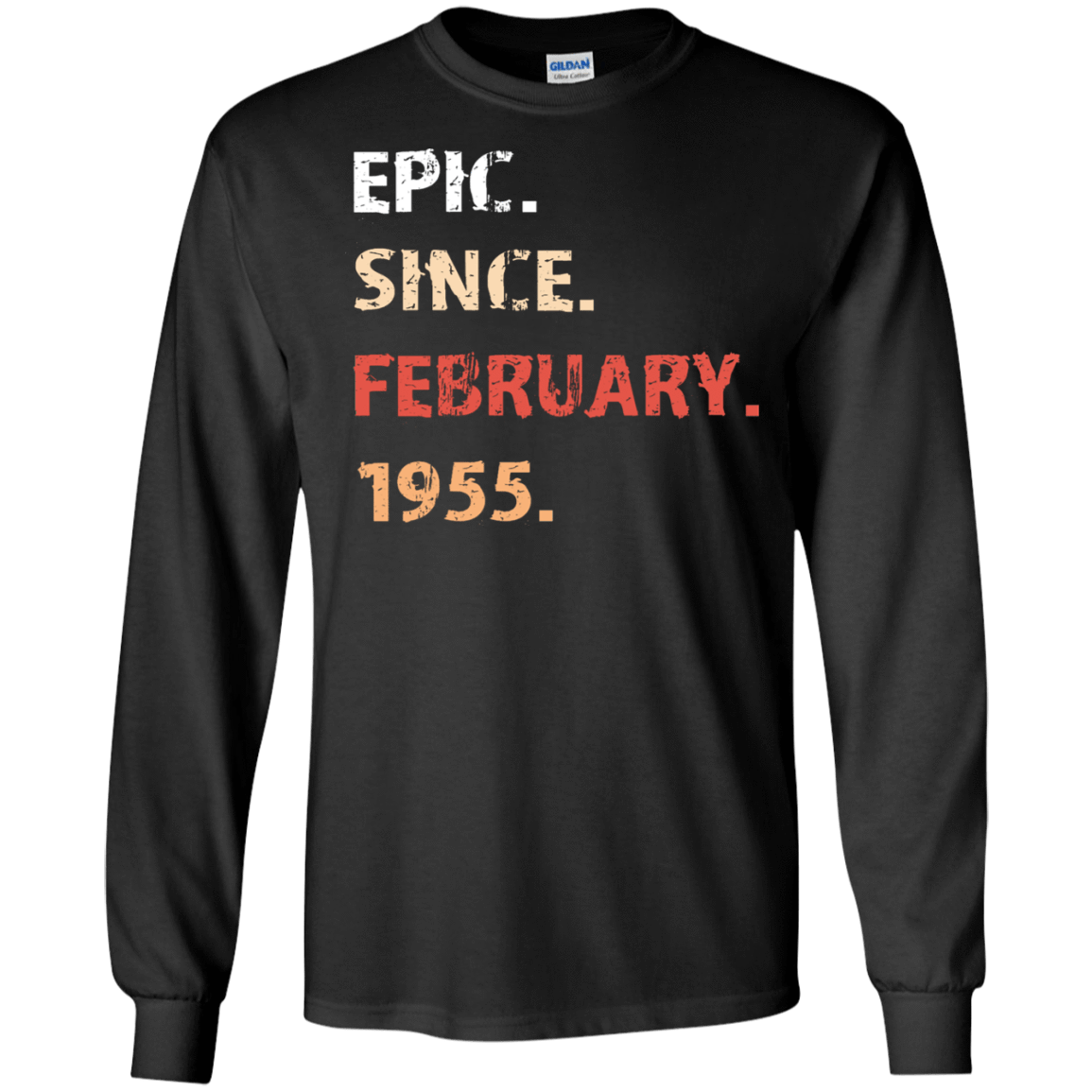 Epic Since February 1955 Birthday Gift 30-186-71482158-333 - Tee Ript