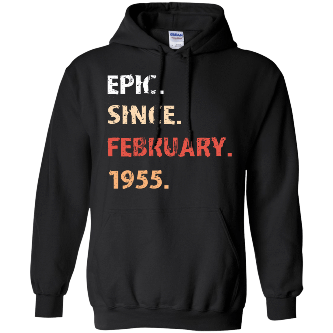 Epic Since February 1955 Birthday Gift 541-4740-71482159-23087 - Tee Ript