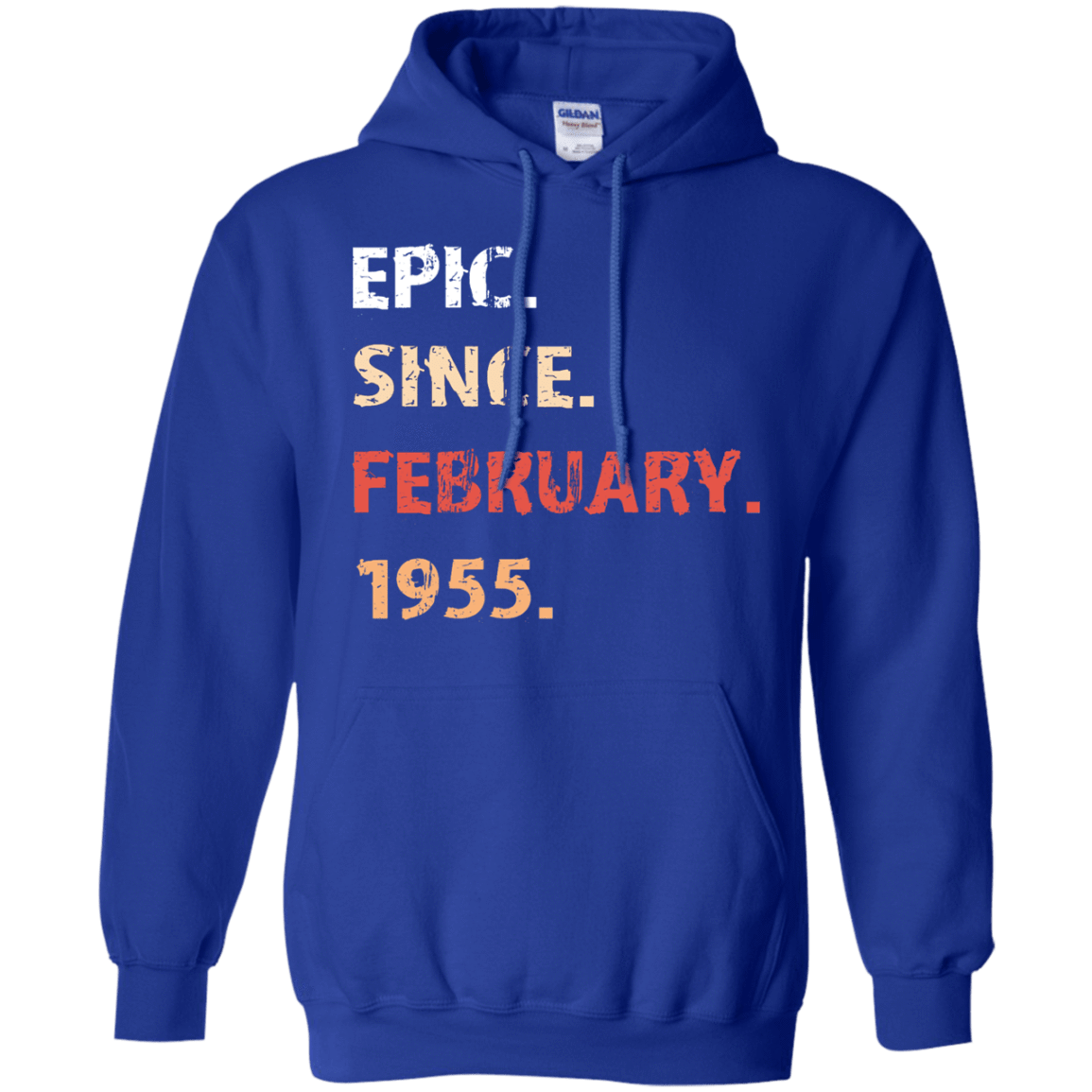 Epic Since February 1955 Birthday Gift 541-4765-71482159-23175 - Tee Ript
